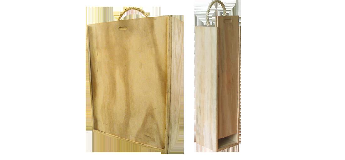 Caja de madera para vino kaichile regalos publicitarios - Cajas de madera para regalo ...
