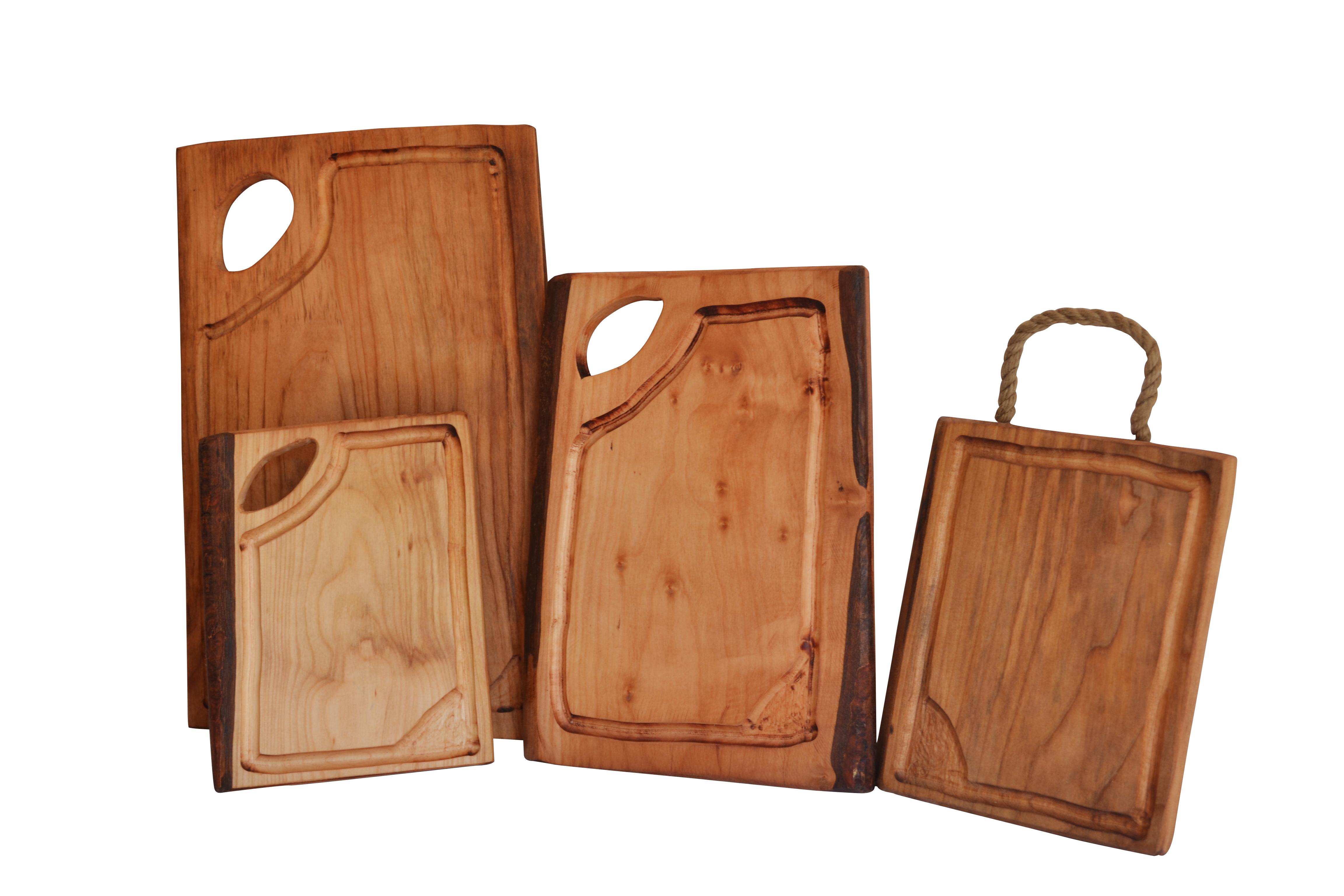 Tabla rusticas de madera kaichile regalos publicitarios for Tablas de madera