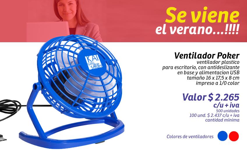 Slide-ventilador